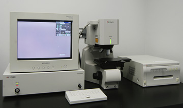 Color laser microscope