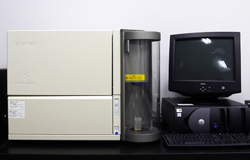 Flow-Type Histogram Analyzer