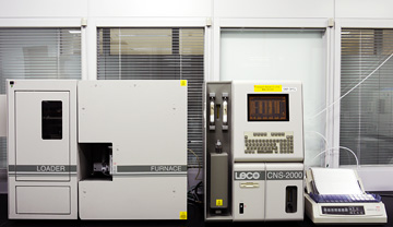 CNS element analyzer